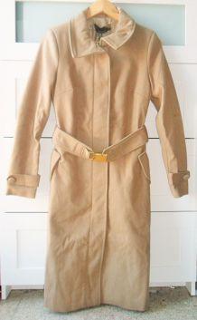 Manteau d'hiver camel long Stradivarius