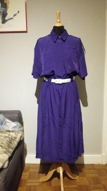 Magnifique robe chemise vintage - T.38/40