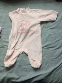 pyjama pas cher bébé rose