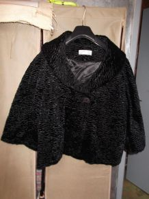 veste paletot noire