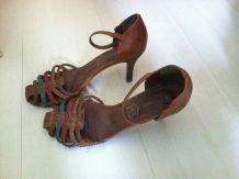 Sandales marron Eram