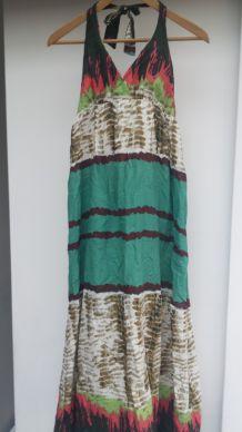longue robe d'été dos nu