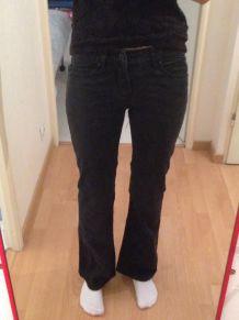 Jean noir bootcut taille 36
