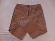 Pantalon camel marron T44