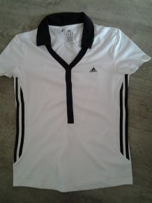 T shirt polo technique respirant adidas tennis