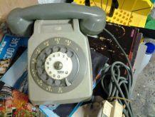 Telephone gris année 80