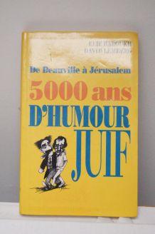 livre 5000 ans d'humour juif