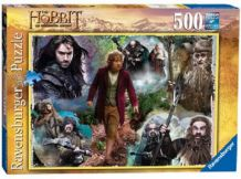 Puzzle - Le hobbit - 500 - comme NEUF