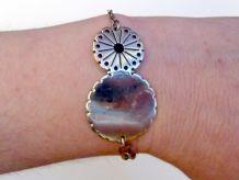 Bracelet Ajustable argenté - Scooter