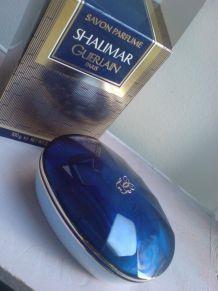 Savon parfumé Shalimar Guerlain Paris Vintage NEUF sous blister