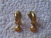 Boucles d'oreilles coccinelle