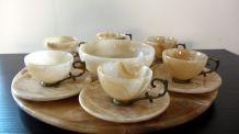 Service à café en onyx