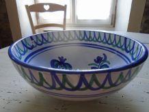 Saladier poterie bretonne