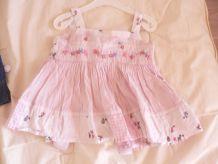 jolie petite robe 3-6 mois Signature Next coton