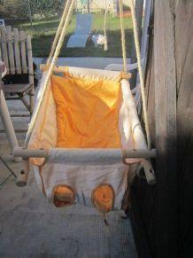 Zebul'hamac blanc cassé / orange