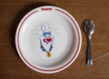 assiette flunch arcopal 1987