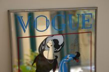 MIROIR Vintage vogue