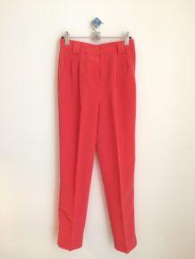 Pantalon carot Amercan apparel en bleu vif