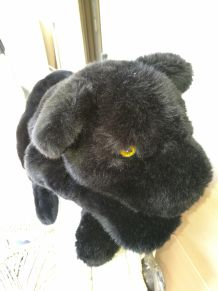 Peluche Panthère Noire Made in France