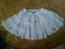 jupon blanc court taille S/M
