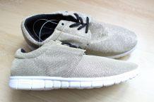 sneakers dorés