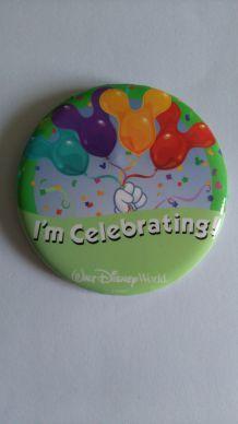 Badge 'i'm Celebrating'