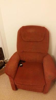 fauteuil de salon électrique
