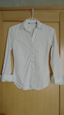 Chemise blanche cintré