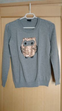 Pull chouette
