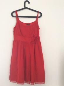 Robe rouge élégante Etam