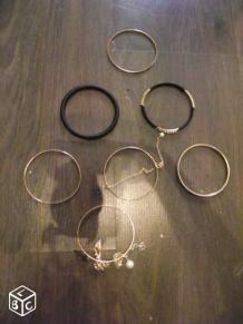Lot de 7 bracelets