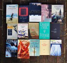 Lot de 500 livres + cadeau collection au choix