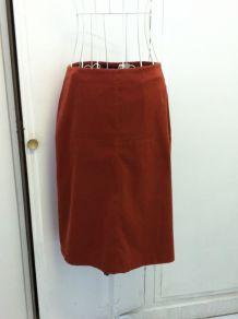 Jupe rouge taille 40 marque Autre ton