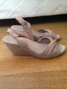 Chaussures à talon compensé