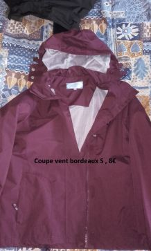 Coupe vent bordeaux t.S