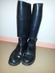 bottes de cheval cuir