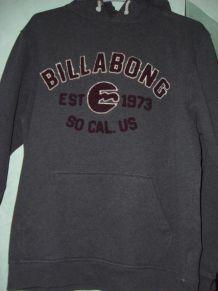 Sweat capuche gris Billabong