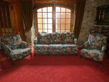 Canapé et 2 fauteuils à relooker