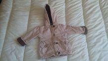 Manteau d'hiver fille 18 mois