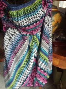 bershka robe bustier