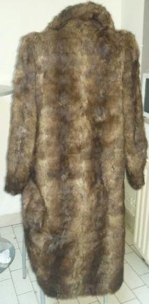 Manteau en fourrure vintage