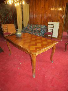 Grande table merisier avec rallonge