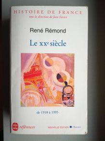 Le XXè siècle, René Rémond