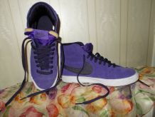 Baskets Blazer mid vintage daim violet NIKE P 38,5