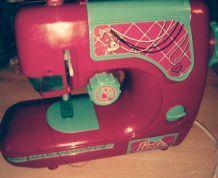 Machine à coudre barbie enfant