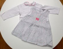 Ensemble robe et t-shirt Grain de blé 6 mois
