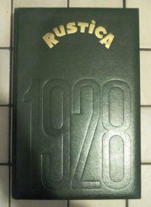 Rustica 1928 - réédition 1989