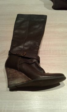 Bottes cuir Mellow Yellow