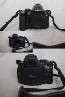 Nikon D5000 + objectif et accessoire