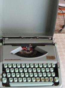 ancienne machine a ecrire hermes baby